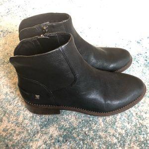 NEW Franco Sarto Black Leather Boots
